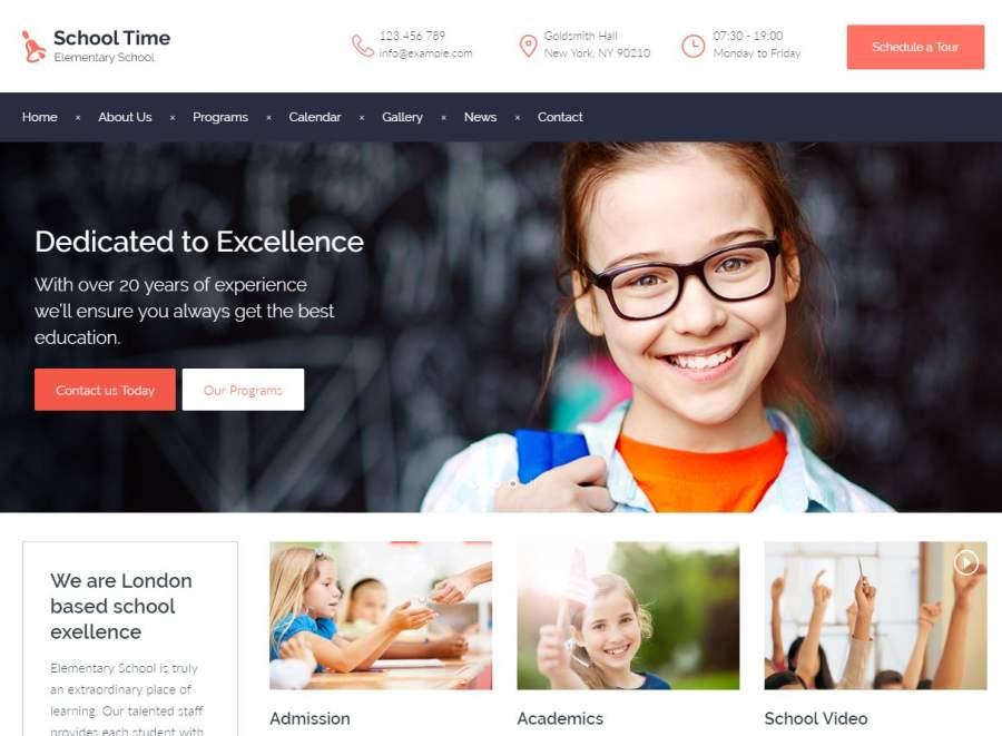 Primary School Website Design - LiveSchools